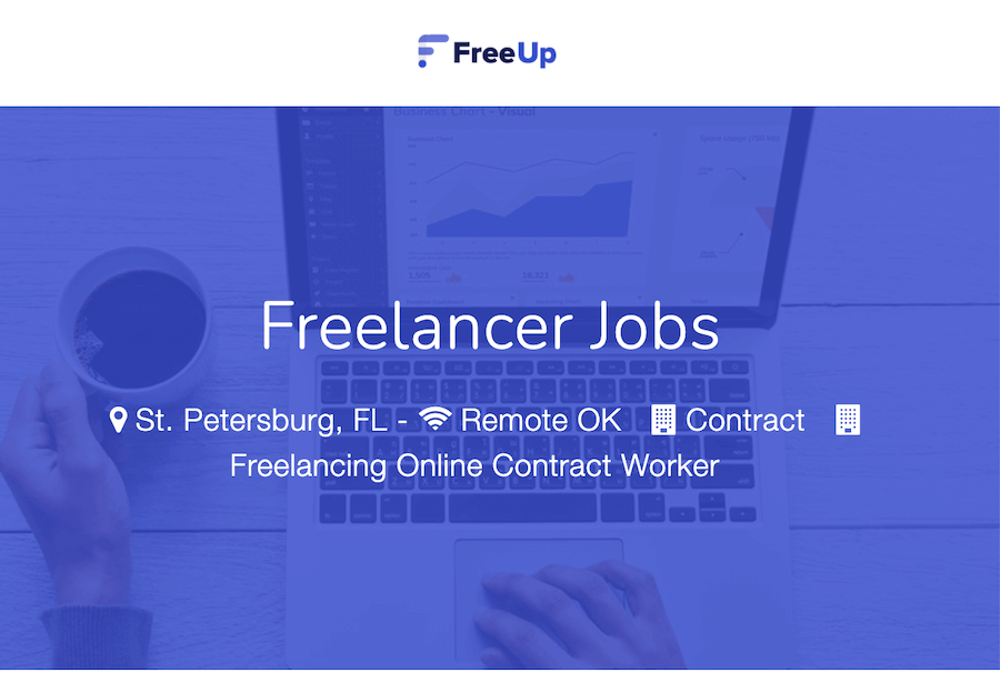 FreeUP - best sites for online writing jobs