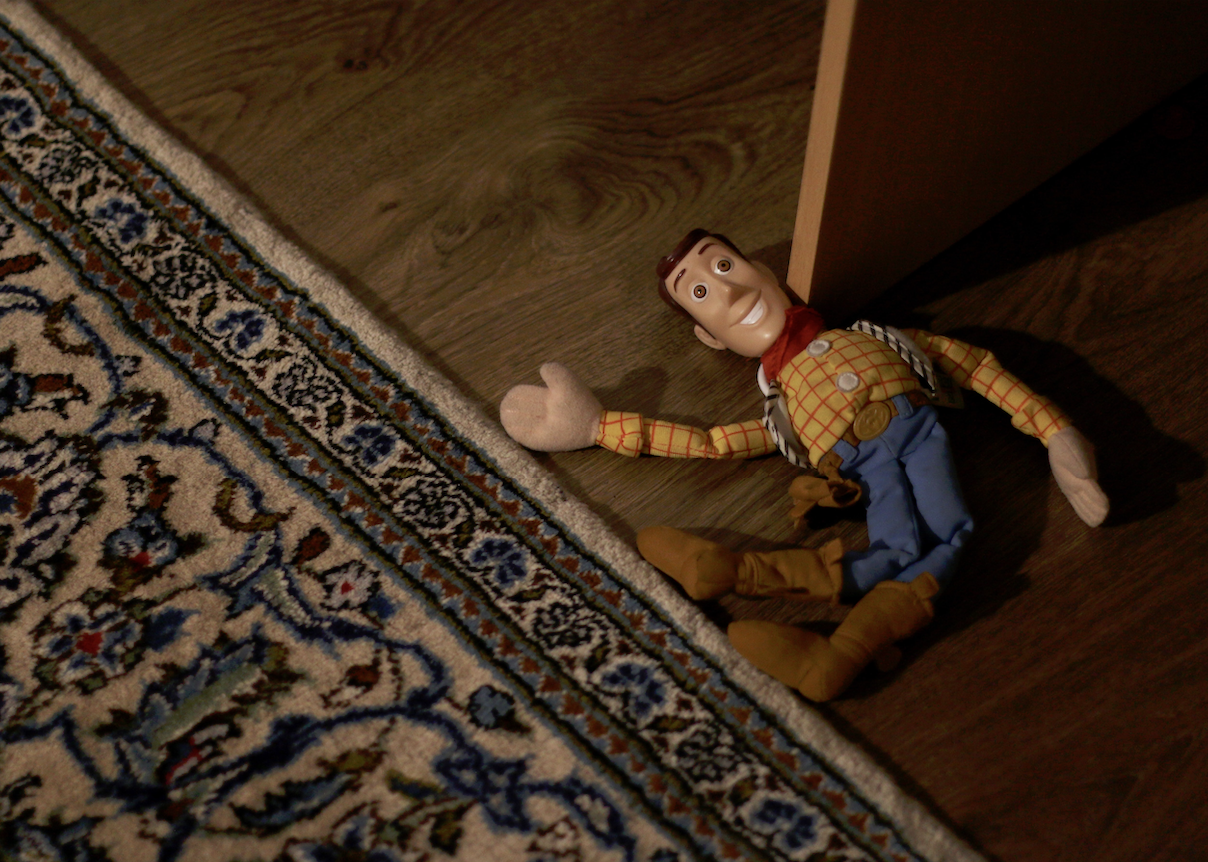 storytelling marketing with toy story main character woody