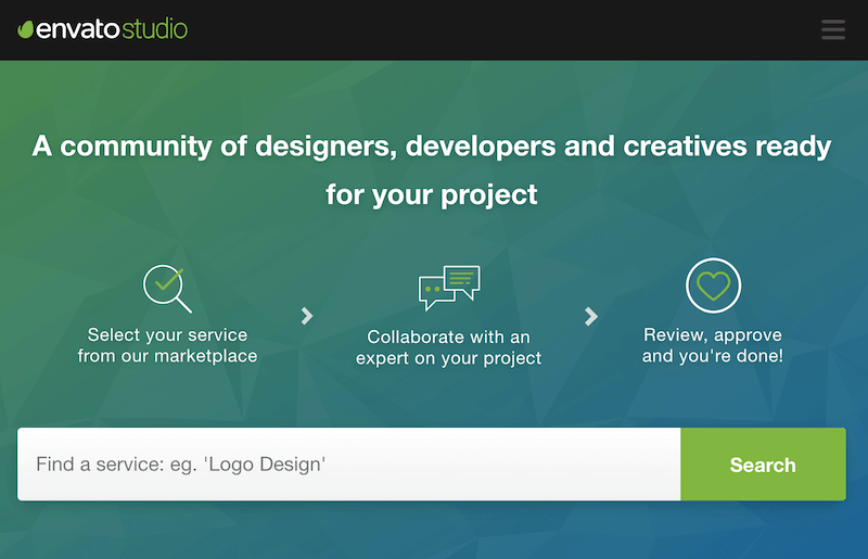 envato - hand curated freelance jobs website for designers and software developers