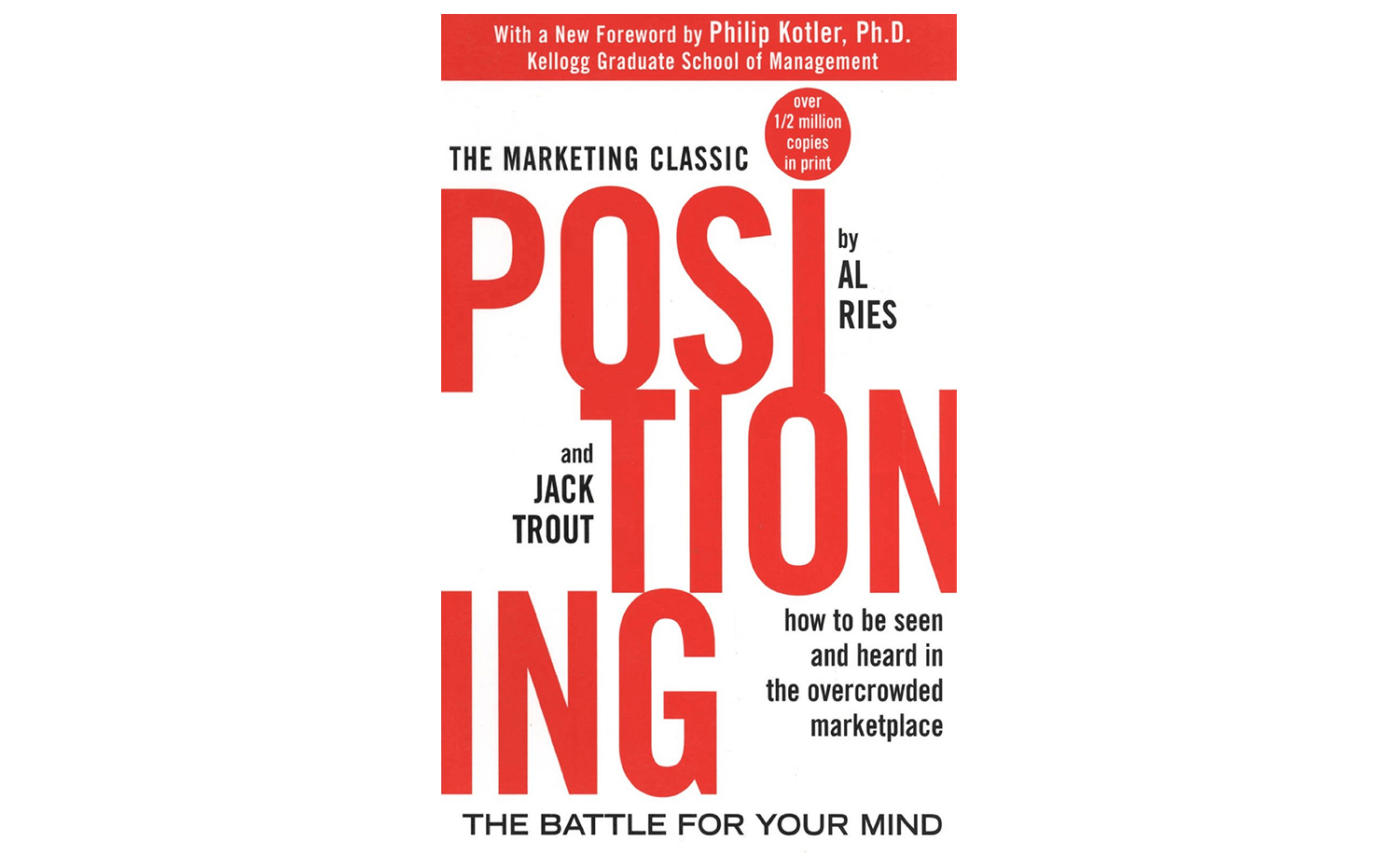 Positioning - best small business marketing book for branding and customer relations