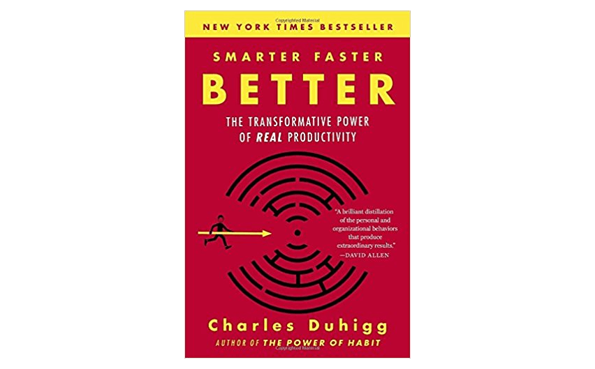 Better - best books for business owners on improving productivity
