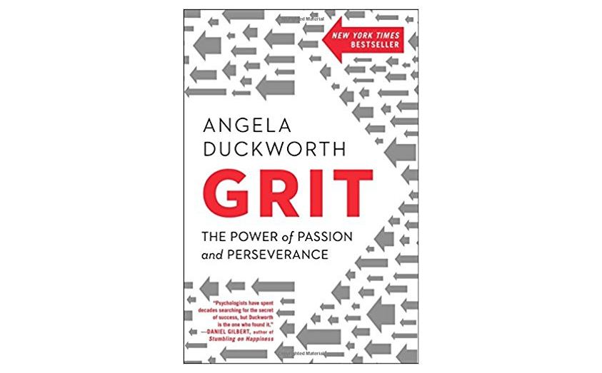 Grit - best small business books on how to succeed in business