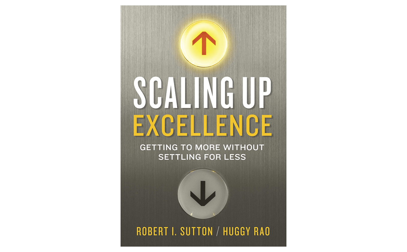 scaling up excellence - best book for scaling up a small business