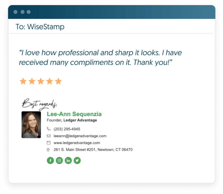 wisestamp email signature management software review-min