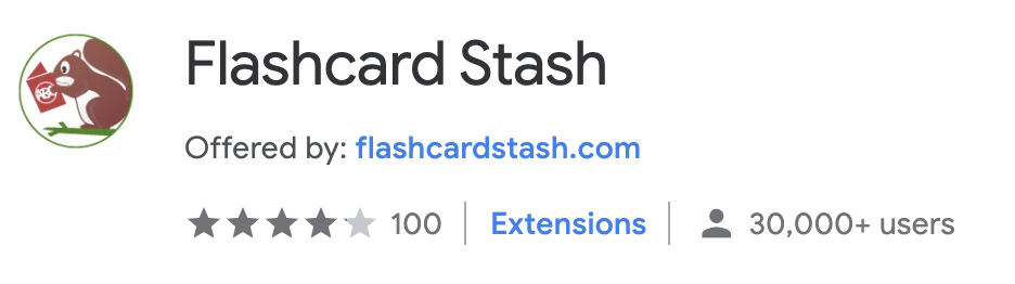 best chrome extension flashcard