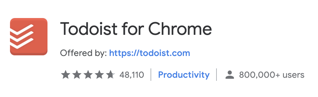 best chrome extension todoist