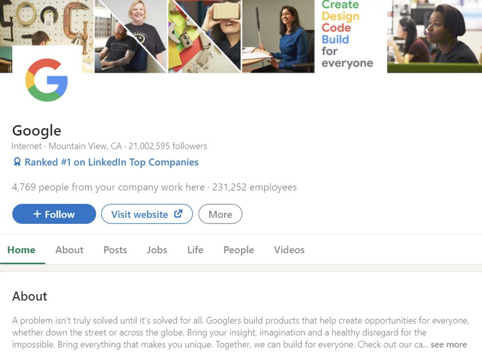 how to increase linkedin page followers most followed company on linkedin