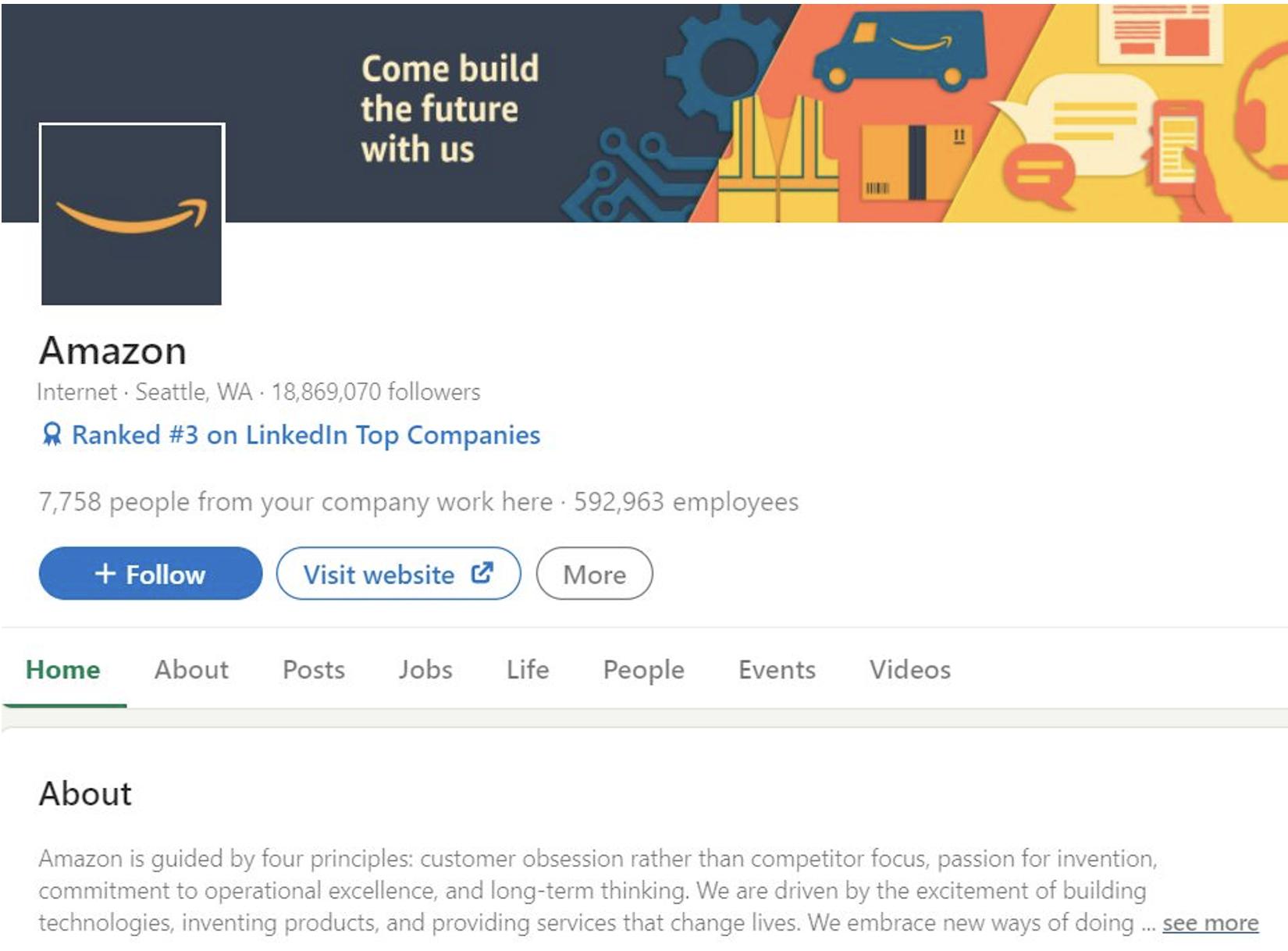 how to increase linkedin page followers most followed company on linkedin!
