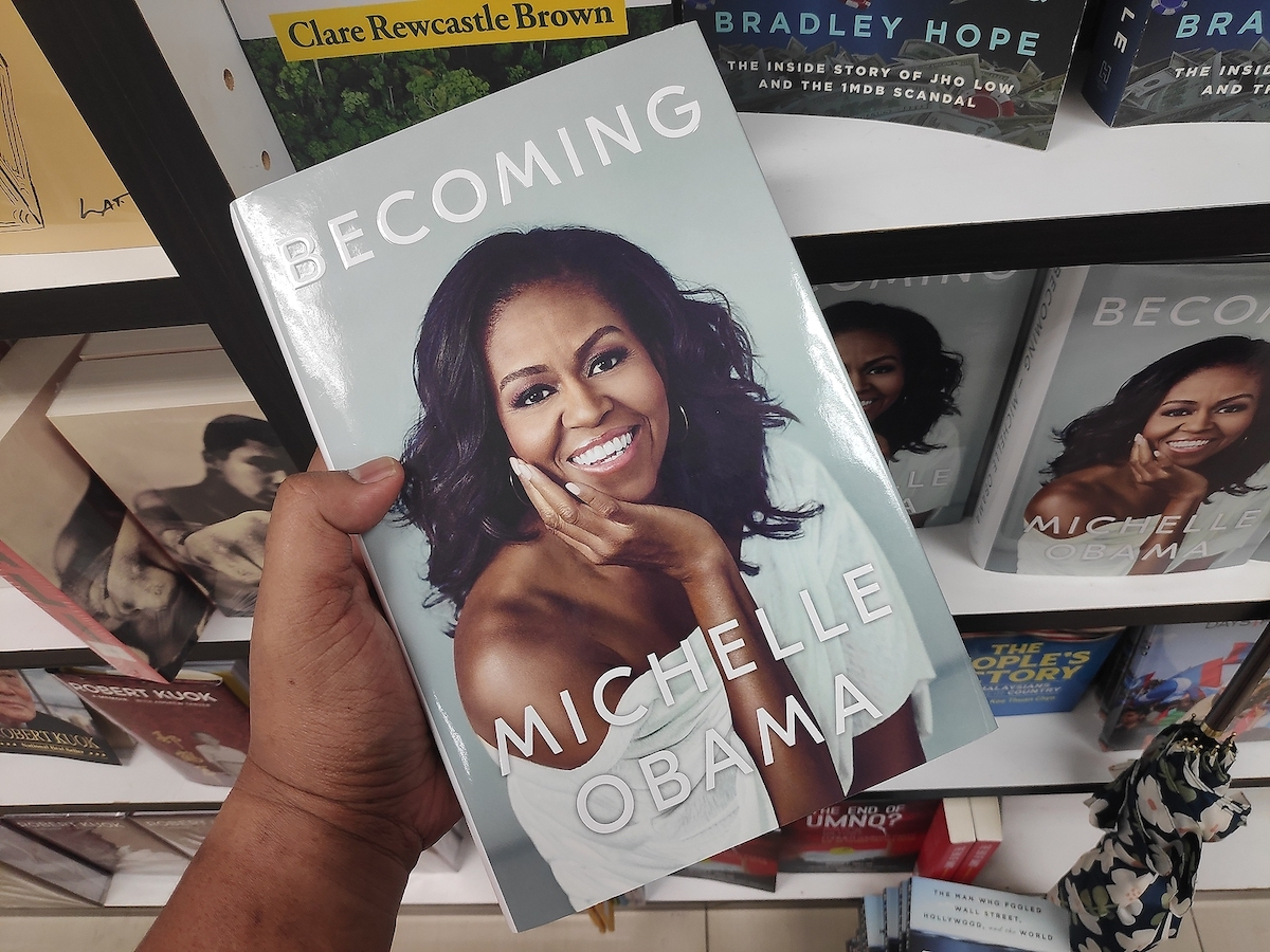 personal branding examples of female-targeted brand - Michelle Obama