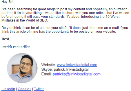 crowdfunding marketer email signature