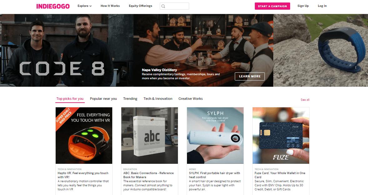 indiegogo marketing