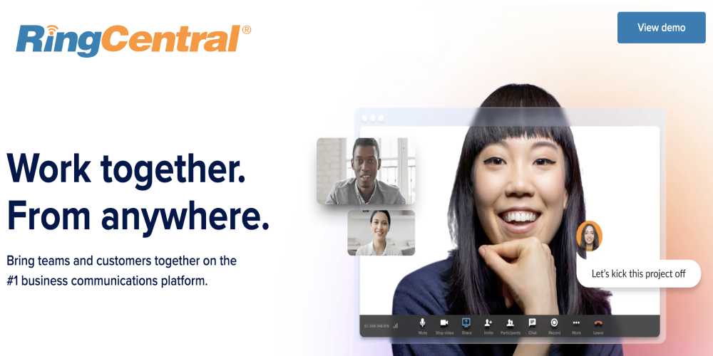 RingCentral best virtual phone system for small business