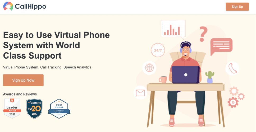 callhippo the best virtual phone system for small business-min