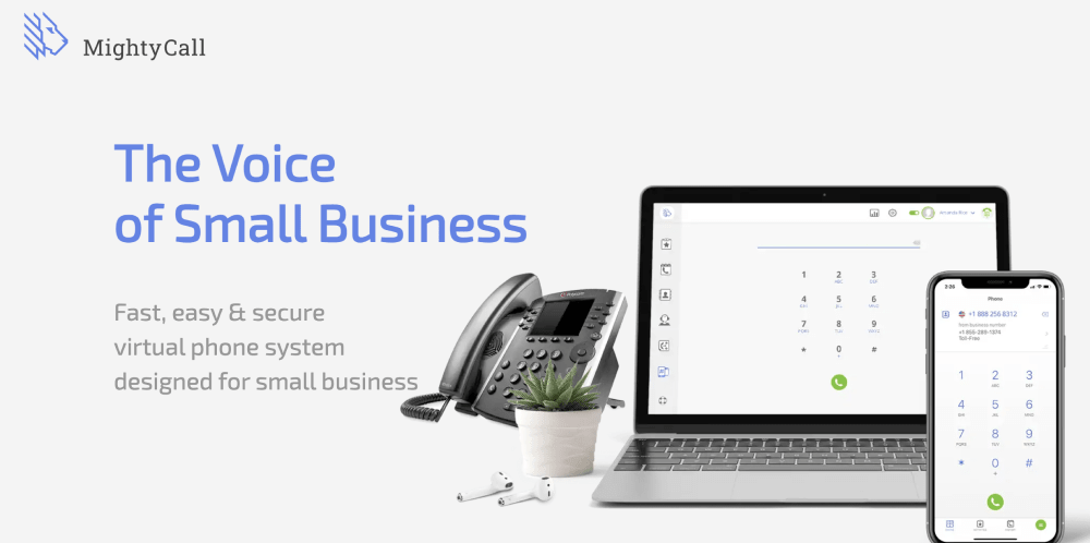 mightlycall best virtual phone system for small business-min